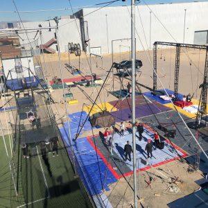 Circus Lot at Trapeze Las Vegas