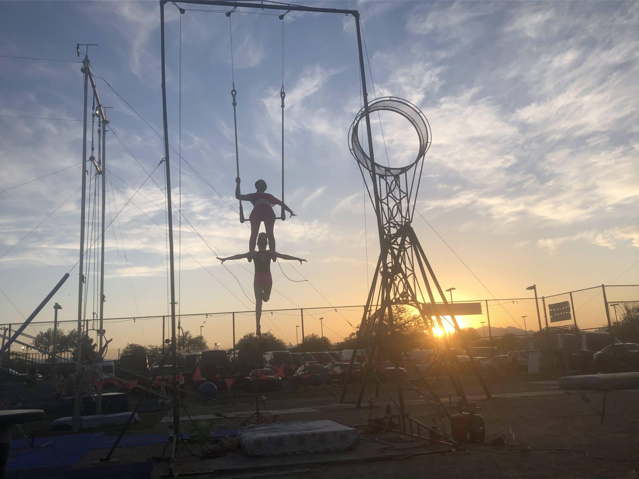 Trapeze Las Vegas in the Spotlight